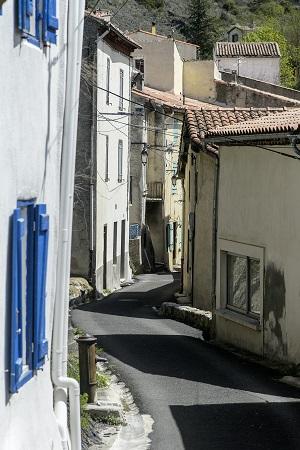 Smal gade i Axat